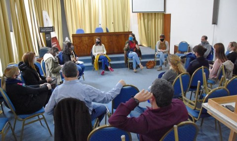 Reunión de la Mesa Local Distrital